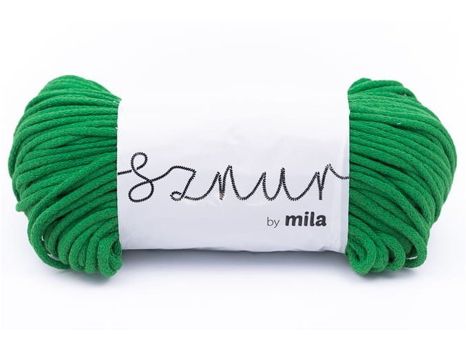 Mila 5 mm Trávově zelená