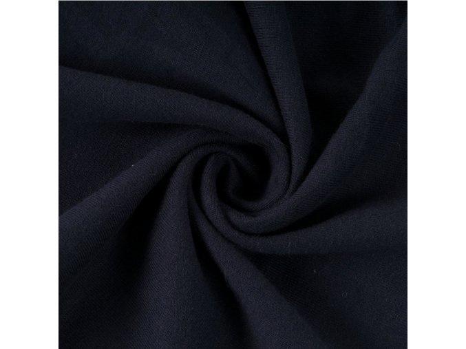 8031 Bavlněný úplet tmavě šedý