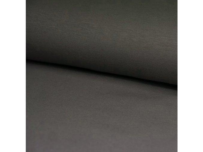 8194 Bavlněný úplet šedý