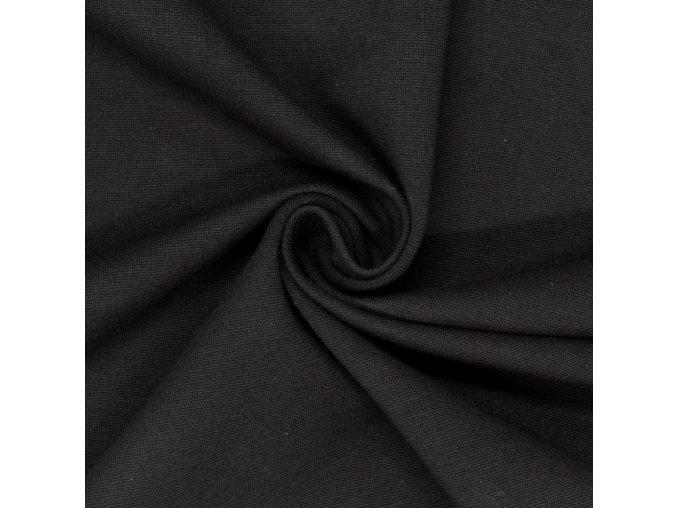 8196 Bavlněný úplet šedý