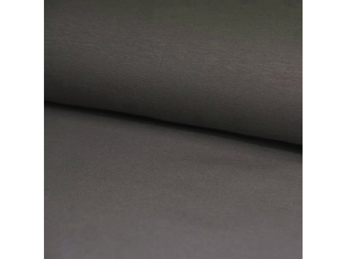 8198 Bavlněný náplet finerib šedý