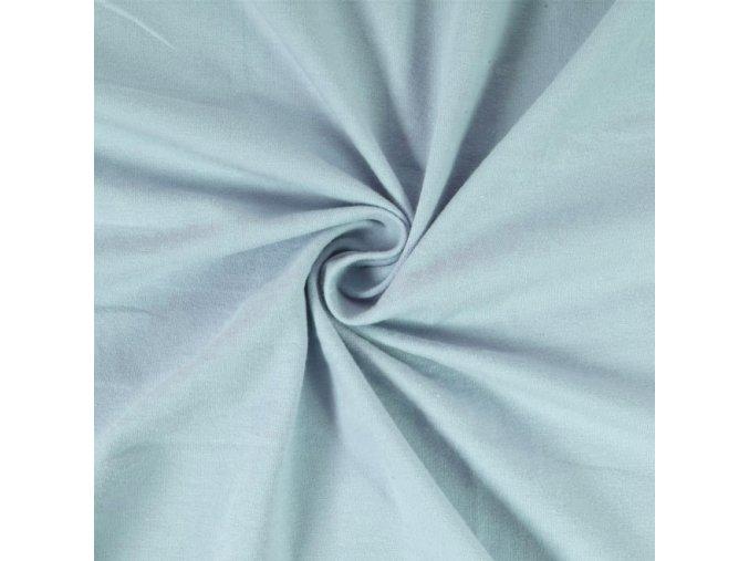 5252 Bavlněný náplet finerib světle modrý