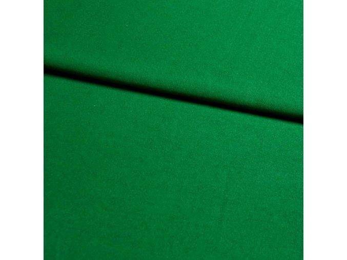 6122 Bavlněný úplet trávově zelený
