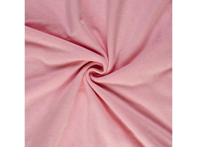 3125 Bavlněný úplet růžový