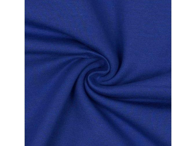 5000 Bavlněný úplet královská modrá