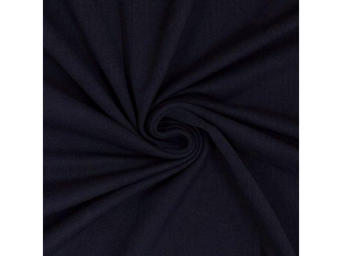 5154 Bavlněný náplet tmavě modrý