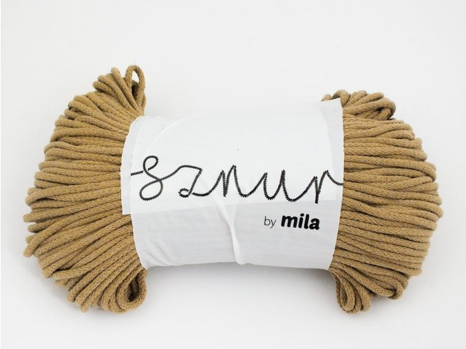 Mila 5 mm Kávová