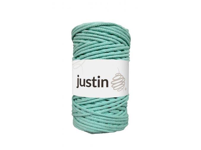 Bavlněné šňůry JUSTIN 3 mm máta