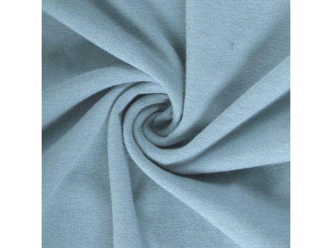 5308 Bavlněný úplet blankytně modrý