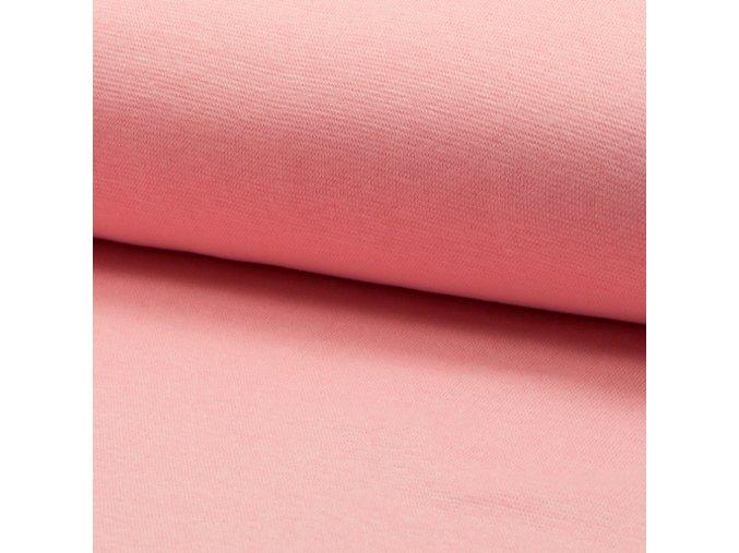 3220 Bavlněný úplet růžový