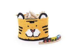 Dětský košík tygr