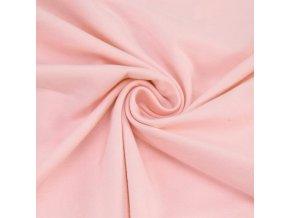 3124 Bavlněný náplet finerib světle růžový