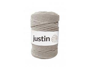 Bavlněné šňůry JUSTIN 5 mm lněná