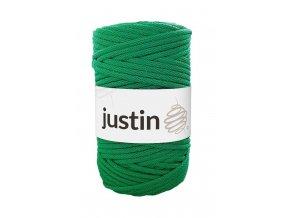 Bavlněné šňůry JUSTIN 5 mm trávově zelená