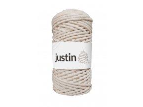 Bavlněné šňůry JUSTIN 3 mm ecru