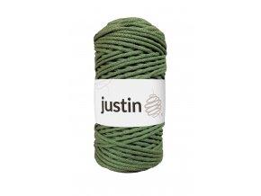 Bavlněné šňůry JUSTIN 3 mm šalvěj