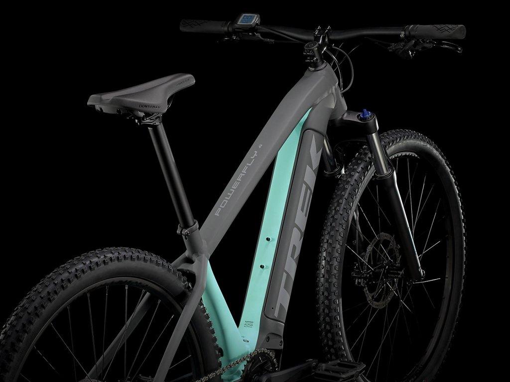 """Elektrokolo TREK Powerfly 4 500W 27,5"""" Matte Solid Charcoal/Matte Miami"""