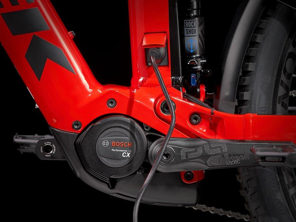 Elektrokolo TREK Powerfly FS 7 Radioactive Red Trek Black