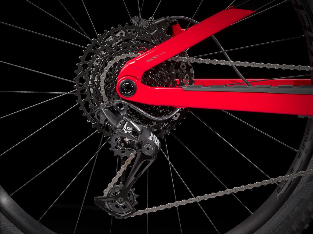 "Horské kolo TREK Fuel EX 7 27,5"" Trek Black/Radioactive Red"