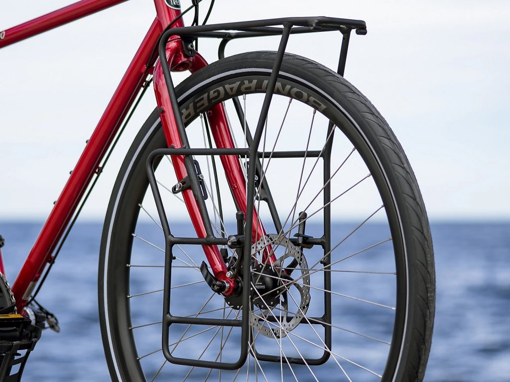 Kolo gravel TREK 520 Diablo Red