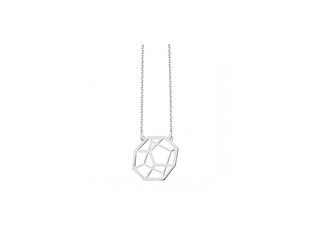 Náhrdelník ze stříbra s originální ozdobou - Meucci SLN013