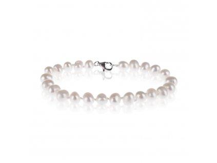 Náramek z říčních perel - Meucci SPS005B