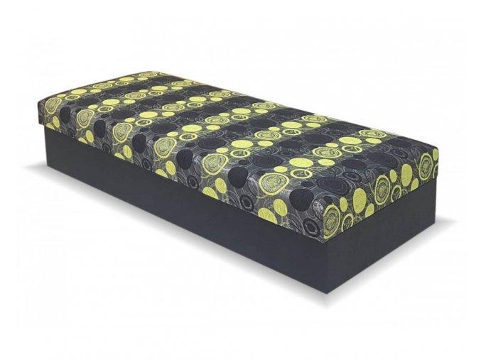 calounena postel s uloznym prostorem kuba