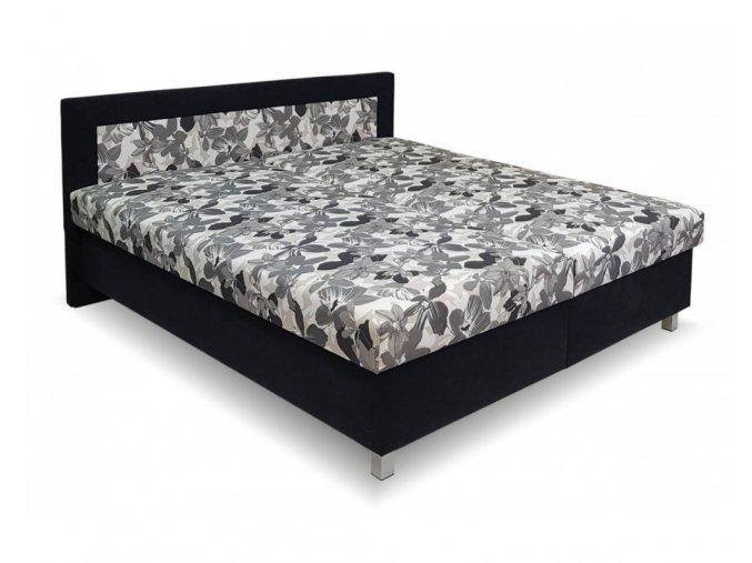 calounena postel s uloznym prostorem agata