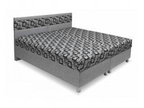 calounena postel s uloznym prostorem agat