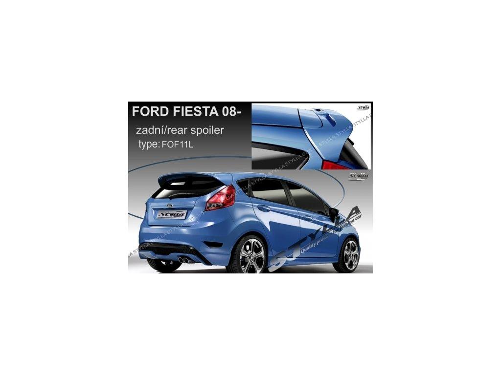Střešní spoiler - stříška Ford Fiesta VI 2008