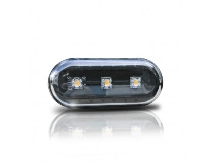 Boční blinkry LED Seat Alhambra, černé.