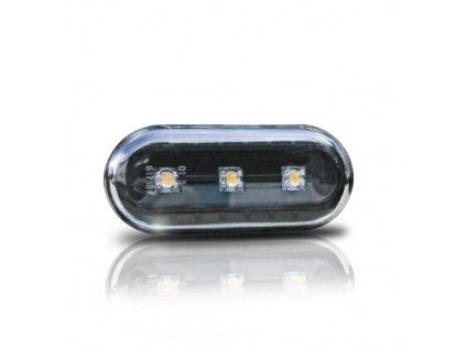 Boční blinkry LED Seat Ibiza, černé.