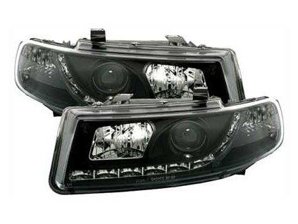 Přední světla LED Seat Toledo 1M, čené