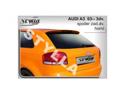 Střešní spoiler stříška Audi A3 2003  3.dveř.