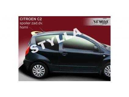 Střešní spoiler - stříška Citroën C2 2003