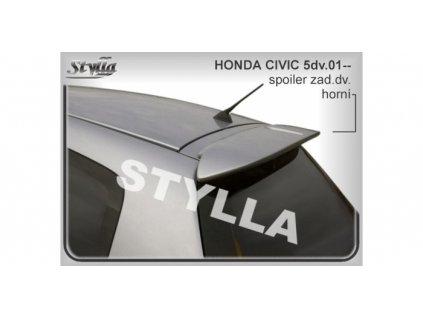 Střešní spoiler - stříška Honda Civic VII 2000 - 2005