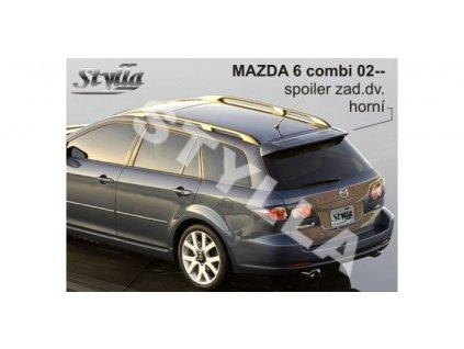 Střešní spoiler - stříška Mazda 6 Combi 2002 - 2007