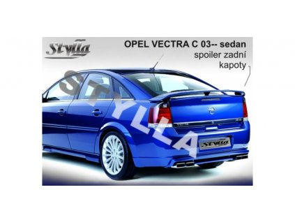 Zadní spoiler Opel Vectra C sedan 2003-