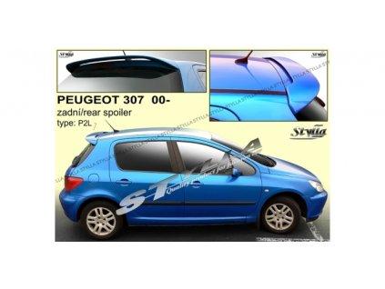 Střešní spoiler - stříška Peugeot 307 2000 - 2008