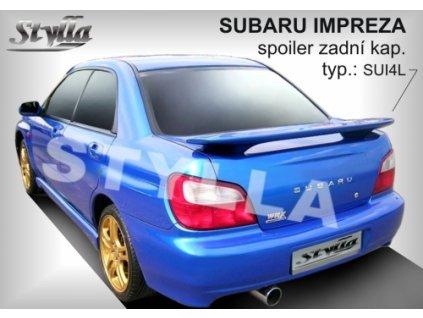 Zadní spoiler Subaru Impreza 200-2008
