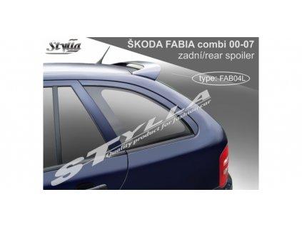 Střešní spoiler Škoda Fabia I combi 2000-2007