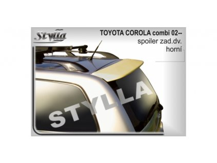 Střešní spoiler Toyota Corolla combi 2002-