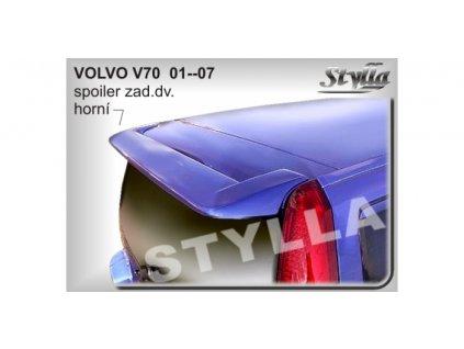Střešní spoiler - stříška Volvo V70 2000 - 2007