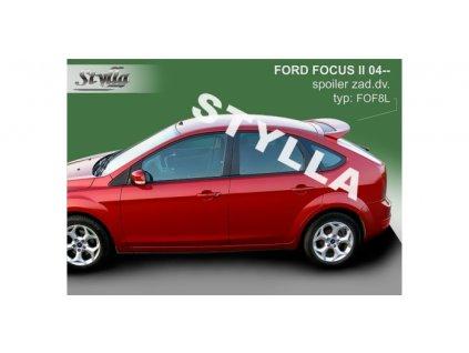 Střešní spoiler - stříška Ford Focus II 2004-