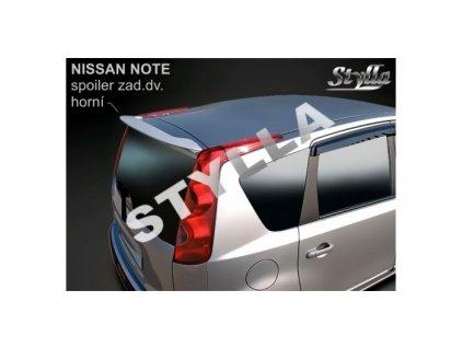 Střešní spoiler Nissan Note 2006-