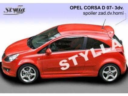 Střešní spoiler, Opel Corsa D 3D 2007-2014