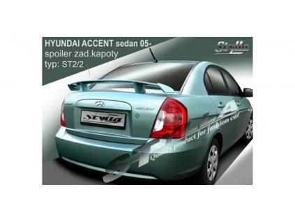 Zadní spoiler Toyota  ACCENT SEDAN 2005-