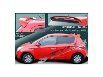 Střešní spoiler - stříška Hyundai i20 2008-