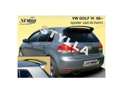 Střešní spoiler VW GOLF VI 2008-