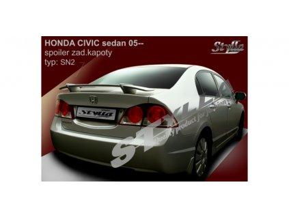 Zadní spoiler Honda Civic VIII Sedan 2005-